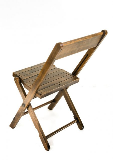 Industrial Style Folding Chair
